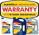 Shell Rotella Heavy-Duty Diesel Engine Lubrication Limited Warranty